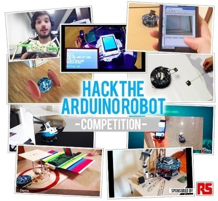 Arduino Blog » Blog Archive » Hack the Arduino Robot: the results are impressive! (And you can vote them) | Heron | Scoop.it