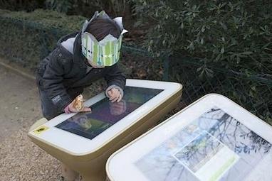 Petite poucette au mobilier urbain- Ecrans | Les enfants et les écrans | Scoop.it