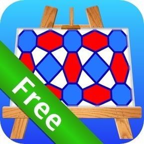 Pattern Artist Free - Easily Create Patterns, Wallpaper and Abstract Art | Matematik på mellemtrinnet | Scoop.it