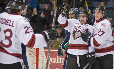 $45 for a Guelph Storm Hockey Game for Four at Sleeman Centre on Friday, March 15, at 7:30 p.m. (Up to $90 Value) | March Break in Milton, ON | Scoop.it