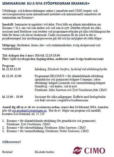 Erasmus+ | Digitalisering Ålands lyceum | Scoop.it