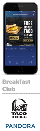 Mobile Is The Main Ingredient In Taco Bell's Recipe For Breakfast Success | AdExchanger | audio branding | Scoop.it