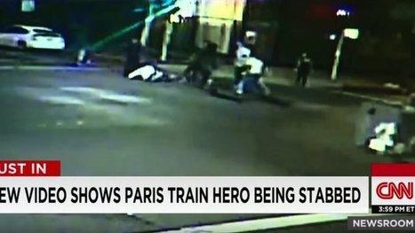 Spencer stone, l'un des héros du Thalys poignardé : les médias américains diffusent une vidéo de la bagarre - France 3 Nord Pas-de-Calais | J'écris mon premier roman | Scoop.it