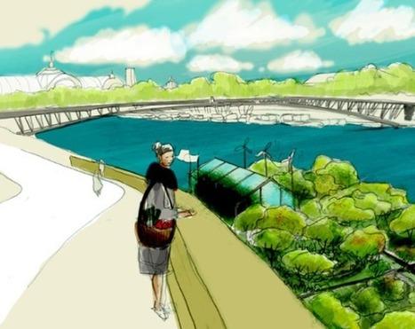 Choix éthique & Biens communs : Agriculture urbaine: à Paris, des barges sur la Seine pour la permaculture | Bien commun-Biens communs | Scoop.it