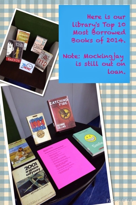 School Librarian in Action: Top Ten Borrowed Books of 2014 | The Reading Librarian | Scoop.it