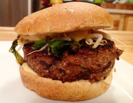 10 Vegetables You Can Make Burgers With   Vegetarian and Vegan   Scoop.it
