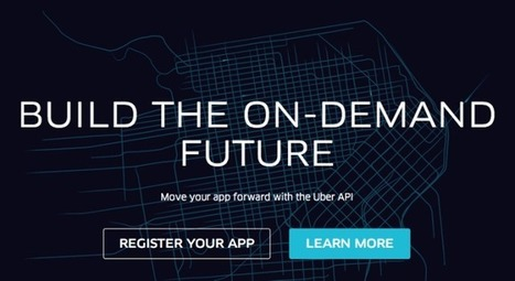 Uber's API Launch Lights The Way For Sharing Economy Apps - TechCrunch | Peer2Politics | Scoop.it