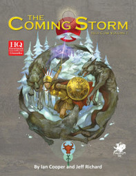 The Making of the Coming Storm cover | Glorantha News | Scoop.it