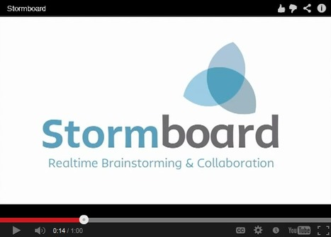 Stormboard - Online Brainstorming and Planning | Inquiry Based Learning in HE | Scoop.it