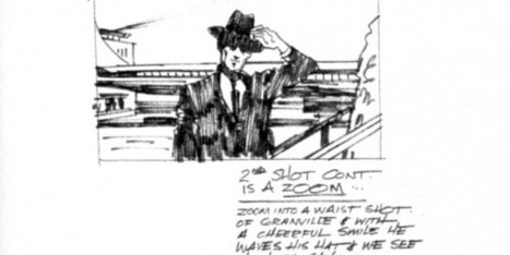 Hitchcock's Storyboards from 13 Classic Films | FilmmakerIQ.com | Writing and Other Crazy Stuff | Scoop.it