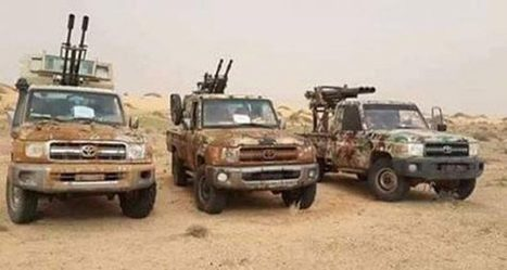 Misurata forces explode a bomb car in Abu Grein Preserve - Libyan Express | Saif al Islam | Scoop.it