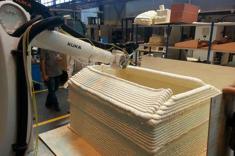 A Nantes, on peut imprimer en 3D des maisons | Ressources pour la Technologie au College | Scoop.it