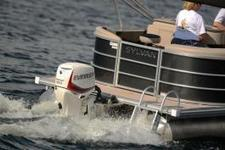 Evinrude's new outboard is just for pontoon boats.   Boating Magazine   Pontoon Boats   Scoop.it