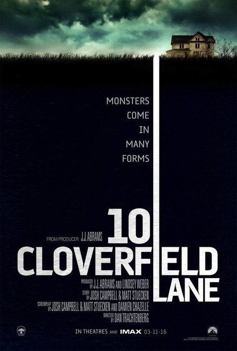 Movie Review: 10 Cloverfield Lane - Well Done, Rare to See Such Dimensional Characters in a Horror Film - Movie Smack Talk | Movies | Scoop.it