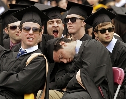 PhotoBlog - Sleeping in on graduation day | All About Alumni | Scoop.it