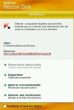 Kaspersky et la culture du faux positif | Informatique | Scoop.it