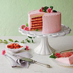 SPRING CAKES IN BLOOM | FOOD COSMOS eDIGEST | Scoop.it