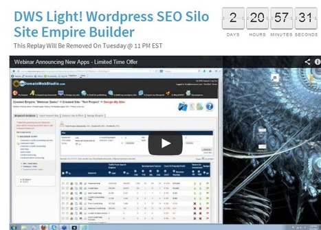 (Webinar Replay Temporarily Live) The Sensational DWS Light Replay  | Network Empire | Advanced SEO, Website Silo Architecture and Content Curation | Scoop.it