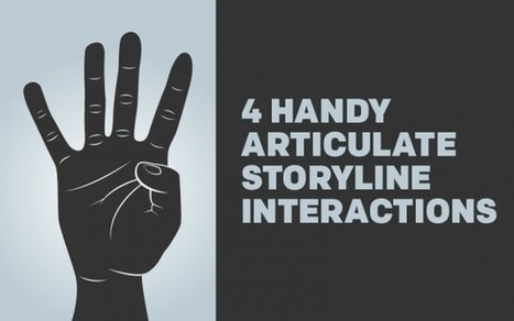 4 Handy Articulate Storyline Interactions - eLearning Brothers | Educational Technology in Higher Education | Scoop.it