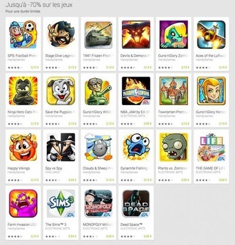 Bon plan : Une vingtaine de jeux soldés à 70% sur le Google Play Store - Tablette-Tactile.net   Application portable et tablette   Scoop.it