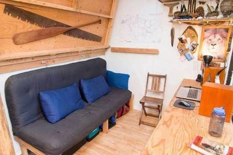 Man Builds His Own Low Cost Tiny House For $500 | Living Little | Scoop.it