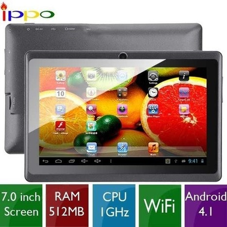 """(IPPO) Y88 7"""" Capacitive Screen 4GB Dual-Core Android 4.1 Tablet PC w/ WiFi Camera - Assorted Colors 