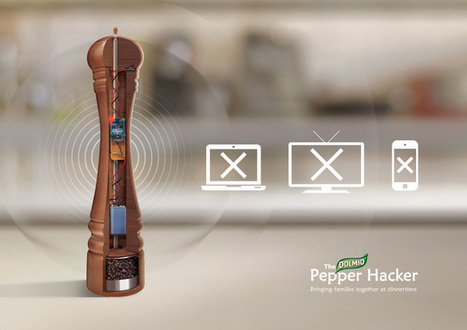 One Twist Of This Pepper Shaker Powers Down Devices And Reclaims Dinner - DesignTAXI.com   Gadgetism   Scoop.it