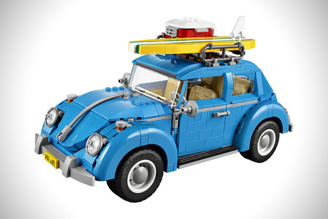 LEGO VW BEETLE | VW Cox Aircooled | Scoop.it