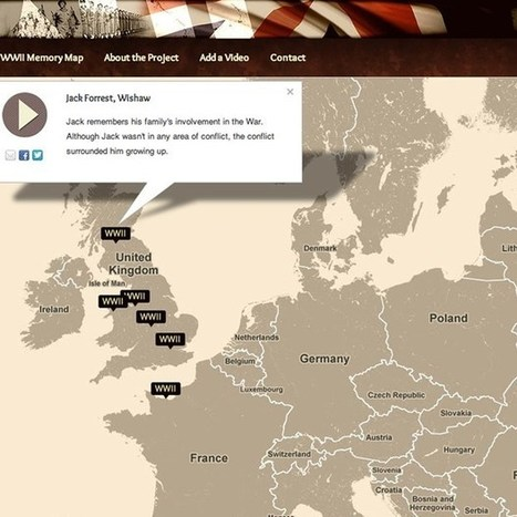 Website maps the memories of World War II veterans - Wired.co.uk | Cartography | Scoop.it
