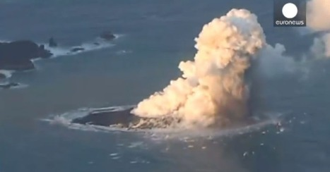 Volcanic Eruption Forms New Island South of Tokyo | AP Human Geography Education | Scoop.it