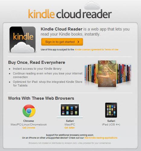 Amazon Kindle Cloud Reader « My Digital Life   ThinkinCircles   Scoop.it