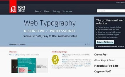 Best Tools for Better Web Typography | Web technos | Scoop.it