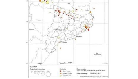 Dos terratrèmols sacsegen Catalunya cada dia   GEOGRAFIA, PAISATGE I MEDI AMBIENT   Scoop.it