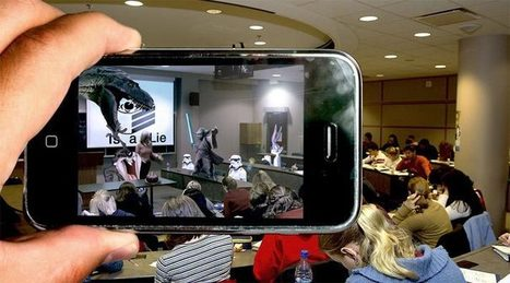 32 Augmented Reality Apps for the Classroom | Games -- Learning and Teaching | Scoop.it