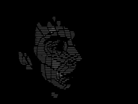 Made by niallmonitor using only slash and backslash. Or…? | ASCII Art | Scoop.it