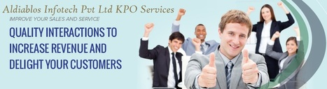 Aldiablos Infotech Pvt Ltd KPO Services – More Effective and Productive | Aldiablos Infotech Pvt Ltd Services | Scoop.it