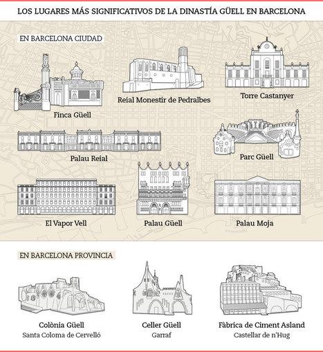 Ruta por el legado arquitectónico de la dinastía Güell | Teaching Art in the Digital Era | Scoop.it