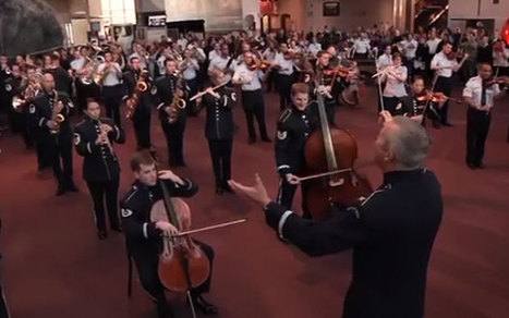 Museum goers treated to surprise musical flashmob - Telegraph | Opera & Classical Music News | Scoop.it