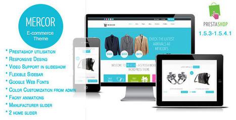 Mercor - Responsive Prestashop Theme (Shopping) Download | eCommerce Templates Download | Scoop.it
