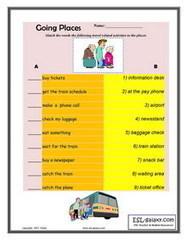 ESL, English vocabulary,Printable worksheets for teaching travel vocabulary   ESL Vocabulary   Scoop.it