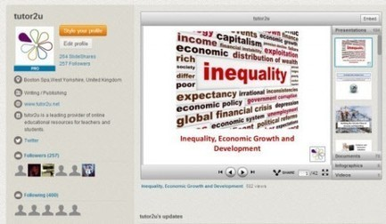 Resources from Tutor2u on Slideshare | Emerging Economies | Scoop.it