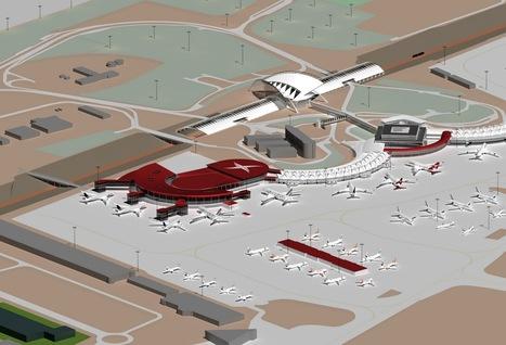 LYon-Actualités.fr: Aéroport de Lyon : le satellite du Terminal 3 inauguré | LYFtv - Lyon | Scoop.it