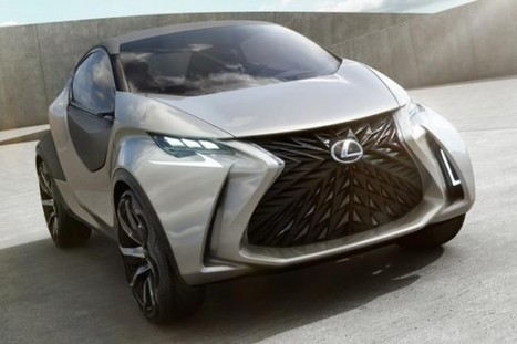 Lexus LF-SA Concept Spotted - SpeedLux | Technology | Scoop.it