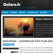 Blogs et influence des blogueurs - Jean-Jacques Urvoy | Evolution : du 2.0 au 3.0 | Scoop.it