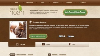 Free Technology for Teachers: Get Kids Documenting Nature on Project Noah | Library Web 2.0 skills | Scoop.it