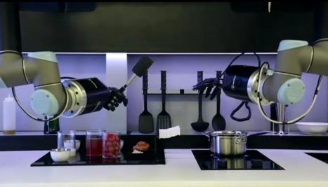 Ce robot peut vraiment cuisiner à votre place | Restauration, quand le digital relève le plat... et crée le trafic. | Scoop.it