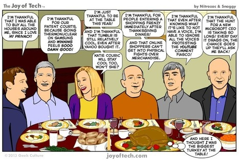 What Are You Thankful for This Thanksgiving? [COMIC] | Surviving the Applewhite | Scoop.it
