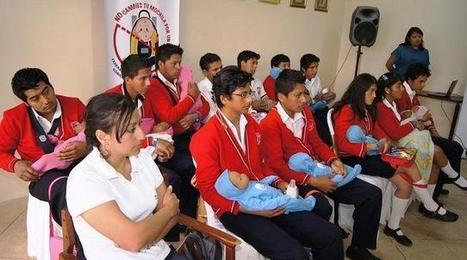 """""""No cambies tu mochila por un bebé"""", campaña para prevenir el embarazo adolescente   educación sexual para docentes   Scoop.it"""