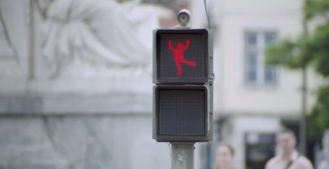 This Clever Traffic Light Makes The City Safer For Pedestrians By... Dancing | Big Think | Fit for life and work | Scoop.it