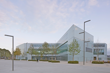 OMA's Bibliothèque Alexis de Tocqueville in Caen Slated to Open in 2017 | EVeilleDoc | Scoop.it